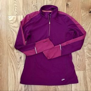 BROOKS EQUILIBRIUM TECHNOLOGY QUARTER ZIP TOP